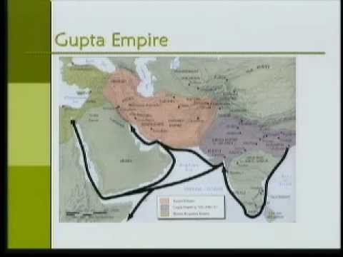 Asian Civilization-Part08-Kushan & Gupta Empires (100 BC - 600 AD)