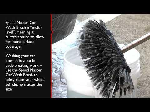 Master Car Wash >> Speed Master Car Wash Brush Youtube