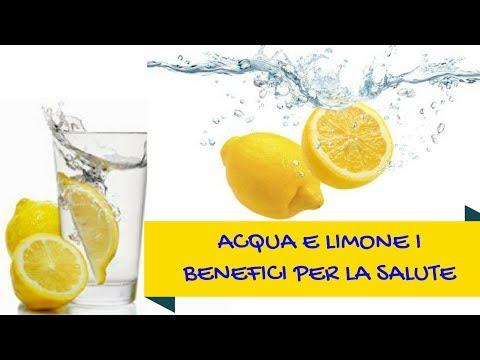 Acqua e Limone al mattino per dimagrire