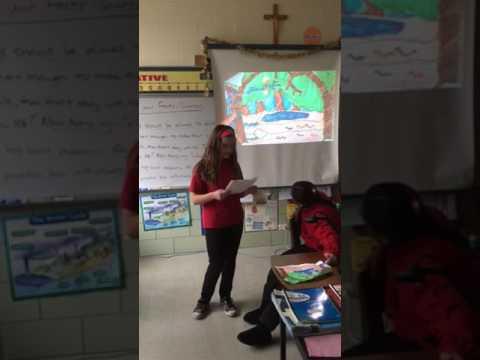Saint Alphonsus Liguori School students creatively teach others!