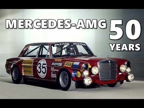 50 Years Of Mercedes-AMG - The Top Picks