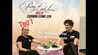 ALS MAKEUP ARTIST AUF DER COMICCON😝 // Comic con Dortmund 2019 / Julianxprincess