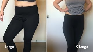 Why Sizing Matters with Leggings + Amazon Queenie Ke Legging Review