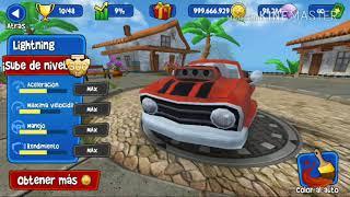 ¡¡¡Mejoro todos los autos al máximo!!!.Beach Buggy Racing.