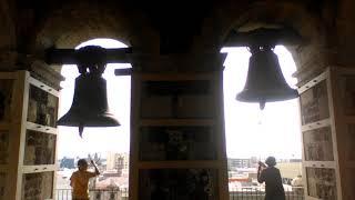 Repique en la Catedral de Guadalajara Torre Sur por el día de La Asunción de La Virgen María