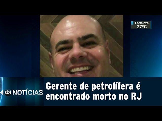 Gerente de petrolífera é encontrado morto no Rio de Janeiro | SBT Notícias (12/02/2019)