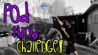 Paintball Pod Throw Challenge