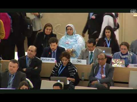 UN Human Rights Council Oral Statement On Uyghur 'Re-Education' Camps