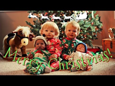Merry Christmas and Happy Holidays! Reborn Babies' and Toddlers' Christmas Special! || 2017