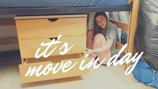 Freshman move in   Belmont University   August 18 vlog