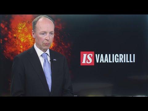 Jussi Halla-aho   IS Vaaligrilli 7.6.2021