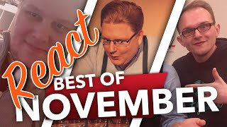 React: Best of November 2017 🎮 PietSmiet React #25