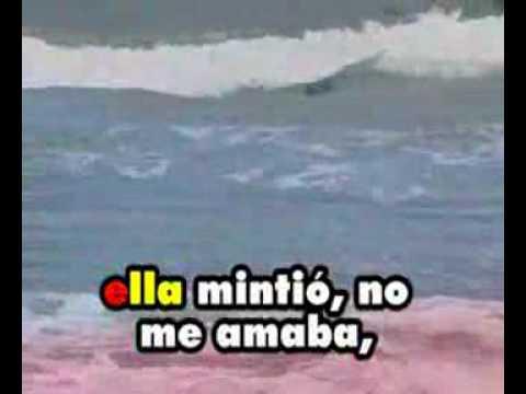 Héctor Lavoe - Ella mintió (Karaoke)