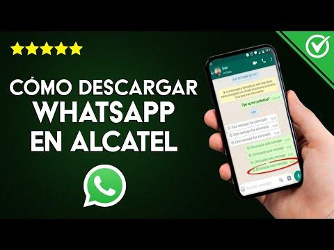 Cómo Descargar, Instalar y Actualizar WhatsApp Gratis en un Móvil Alcatel