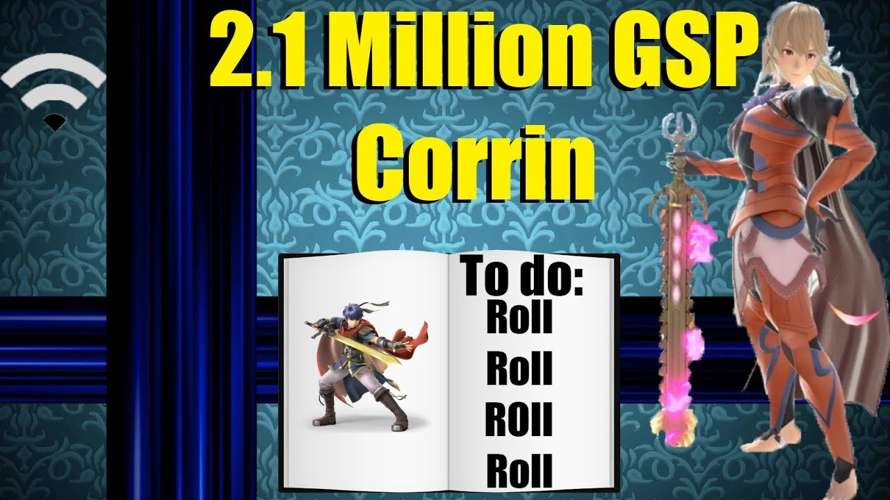 Godlike 2 1 Million GSP Corrin Tips & Gameplay (Super Smash Bros  Ultimate)