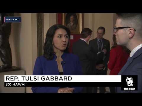 Tulsi Gabbard addresses: Net Neutrality, Doug Jones