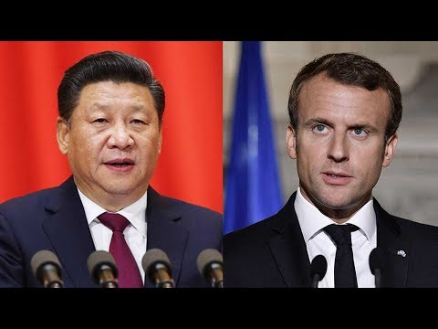 Xi, Macron hold phone talks over DPRK issue, bilateral ties