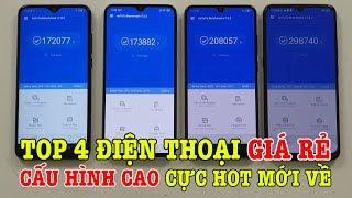 Top 4 điện Thoại G Á RẺ CẤU HÌNH CAO Cực Hot Vừa Ban Ra