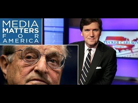 Medios progresistas aliados a George Soros exigen a Fox News que despida a Tucker Carlson.