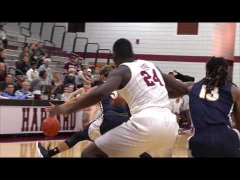 Recap: Harvard Men's Basketball vs. Fisher - Nov. 17, 2016