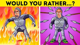 🔉What Would You CHOOSE To Survive? 😱 Riddles That'll TEST Your LOGIC!