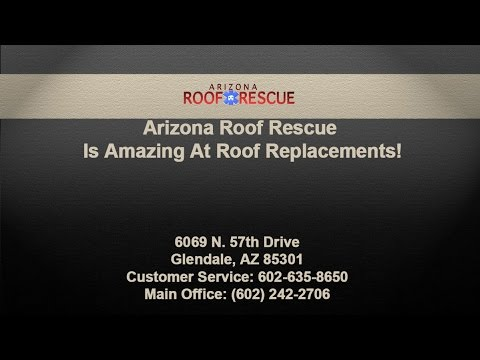 Arizona Roof Rescue Is Amazing At Roof Replacements!