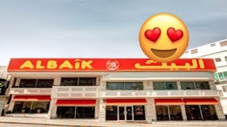 Eating AlBAIK for the First time   Vlog