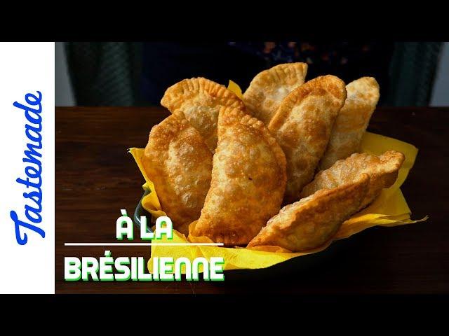 Beignets farcis, pastels - À la brésilienne