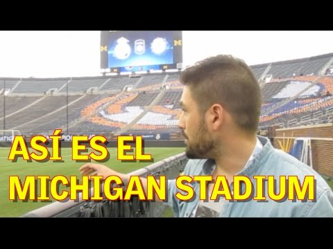 AStv te enseña el Michigan Stadium de Ann Arbor