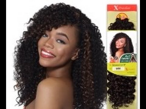 Crochet Braids Avec Xpression : In 1 Xpressions Crochet Braids Bahama Curl - YouTube