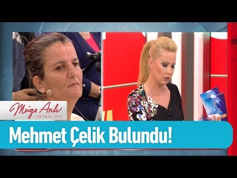 Mehmet Çelik bulundu! - Müge Anlı ile Tatlı Sert 20 Haziran 2019