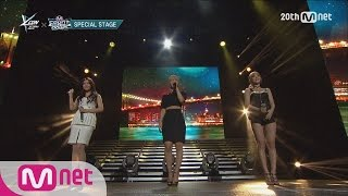 AOA ′Cho A & Hye Jeong & Yu Na′ - Empire State of Mind M COUNTDOWN - FEELZ in NY 150815 EP.438