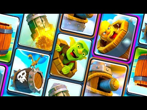 """THE BARREL DECK"" CLASH ROYALE + ""IDLE TUBER EMPIRE"" NEW GAME INFO!"