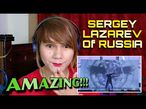 SERGEY LAZAREV - YOU ARE THE ONLY ONE | EUROVISION GRAND FINALS PERFORMANCE | RUSSIA | REACTION