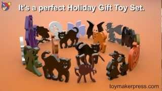 Wood Toy Plans - Halloween Ornaments