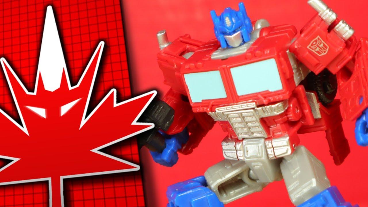 Transformers Generations Kingdom Core Class Optimus Prime TFanPage101 By TFanPage101