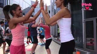 SKYOXYGEN: тренировка с Pink, XXL и Oxygen Workout