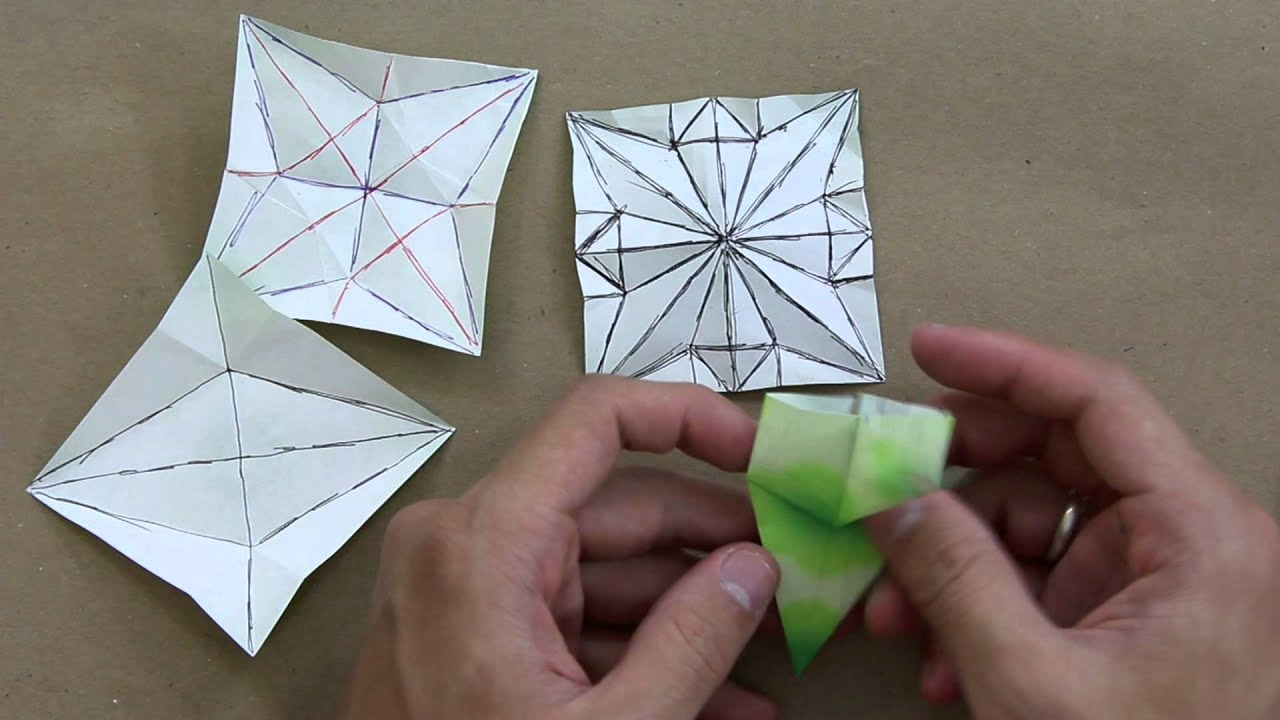 Designing of self-deploying origami structures using geometrically ... | 720x1280
