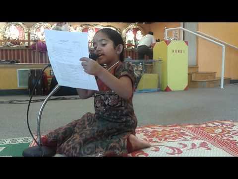 Bolo Thankyou song by Yashvi Jain.