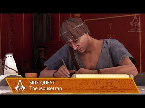 Assassin's Creed Origins - Side Quest - The Mousetrap