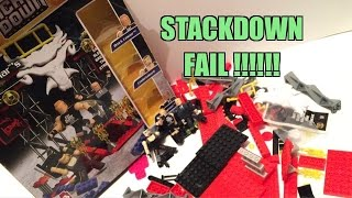How To Build Suplex City Out Of Legos!! Wwe Stackdown Brock Lesnars Entrance Playset Fail
