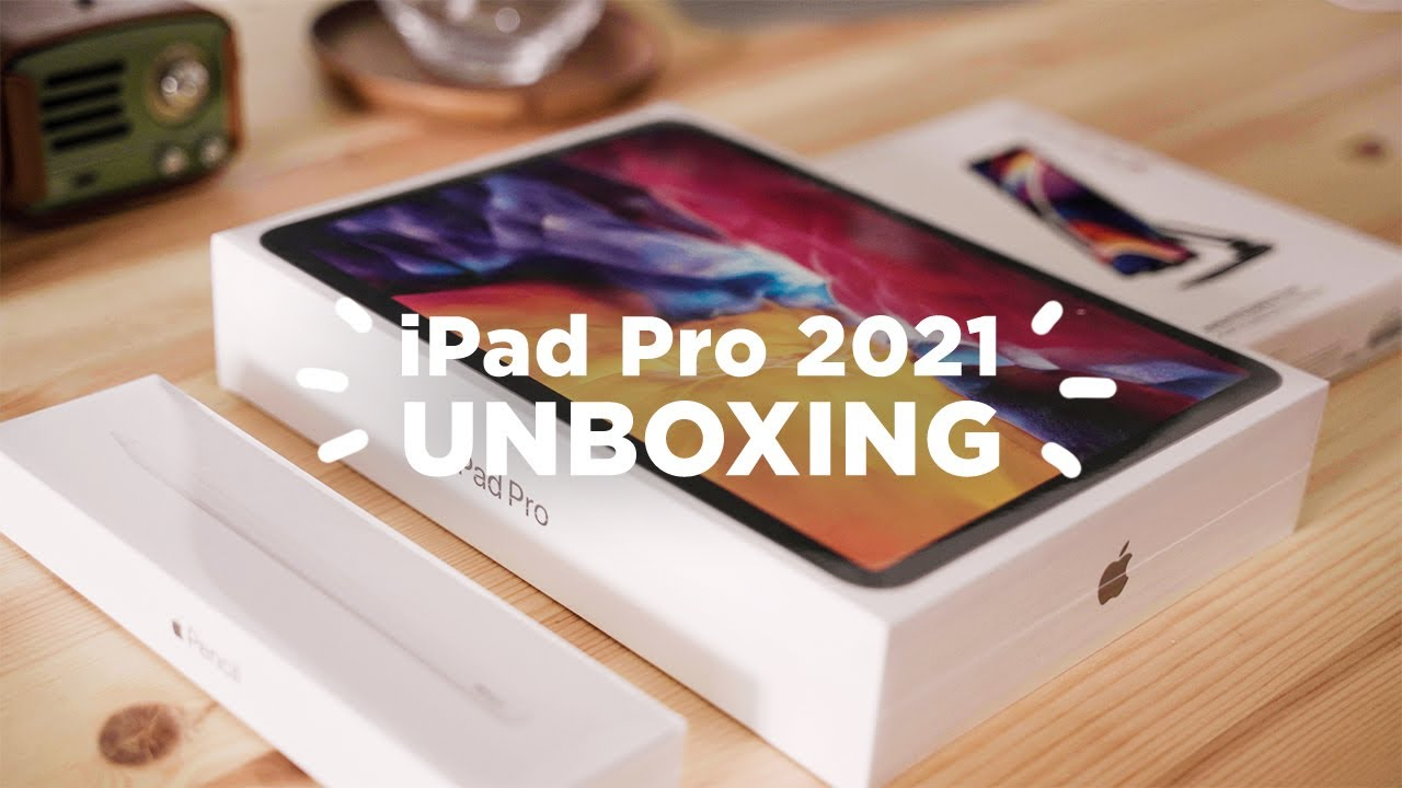 Apple | Unboxing iPad Pro + Apple Pencil + Satechi Stand ...