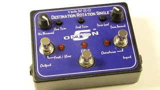 Option 5 Effects Destination Rotation Single