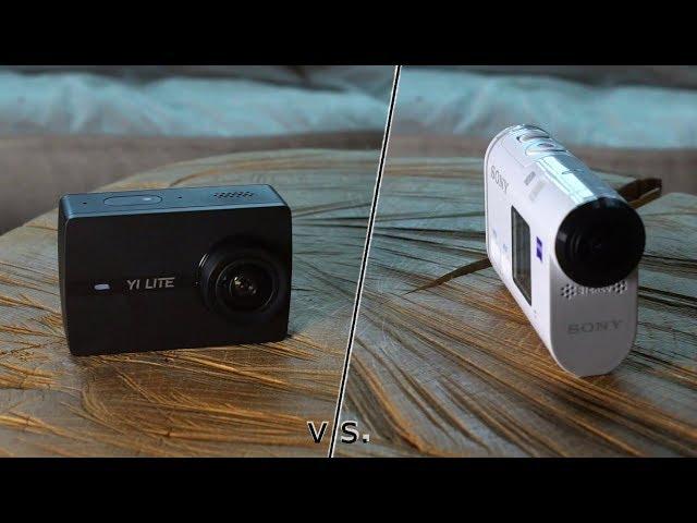 Sony FDR-X1000 vs. Yi Lite - Action-Cam Vergleich