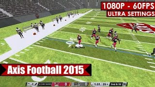 Axis Football 2015 gameplay PC HD [1080p/60fps]