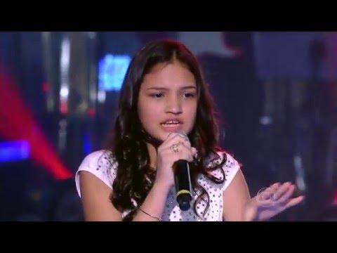 Ana Rosa, Gabriel Lins e João Vitor cantam 'Amor pra Recomeçar' no The Voice Kids - Batalhas|1ª Temp