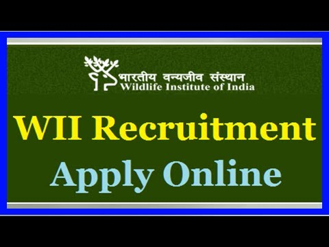 Wildlife institute of india, dehradun recruitment: 59 posts, apply before dec 15
