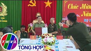 THVL |Cục Phát triển Quân đội Hoàng gia Campuchia chúc Tết tại Công an tỉnh Vĩnh Long
