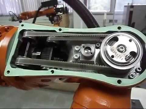 Inside Axis 4, 5 & 6 of KUKA KR5 Robot
