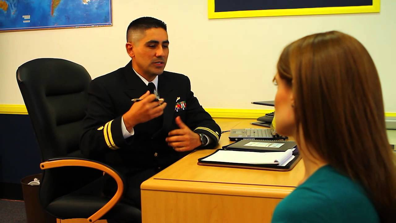 navy recruiter training video